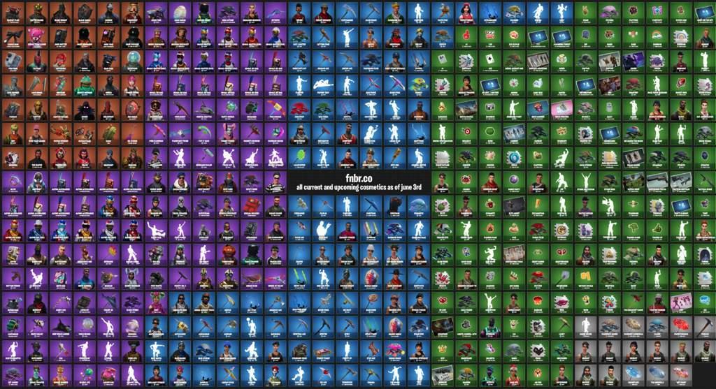 All Cosmetics In Game Files So Far Fortnite Battle
