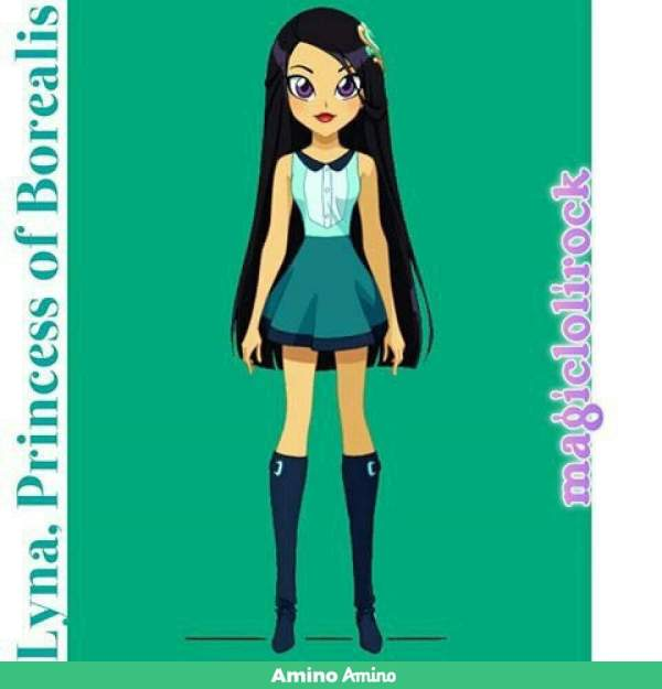 Lolirock Lyna Coloring Page Exploring Mars