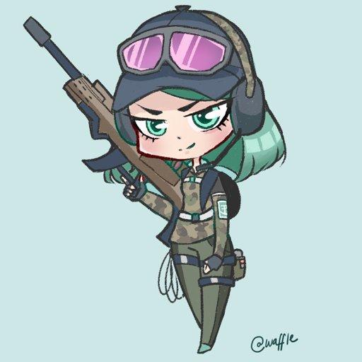 Chibi Ela!   Rainbow Six Siege Amino