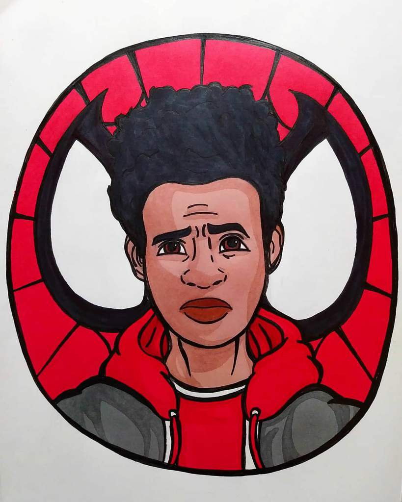 How To Draw Miles Morales Face : miles, morales, Spiderverse:, Miles, Morales, Amino