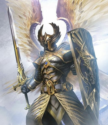 guardian angel knight armor