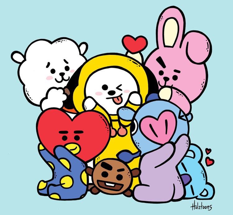 Which BT21 character is the cutest to you? Part 1   ARMY's Amino