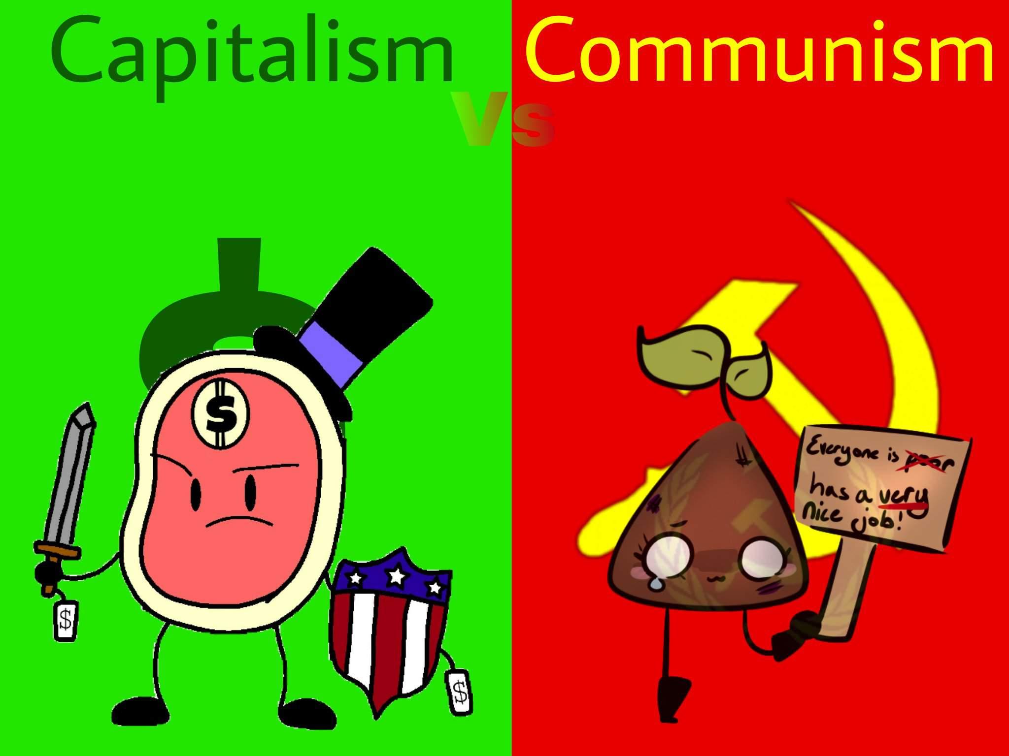 Capitalism Vs Communism