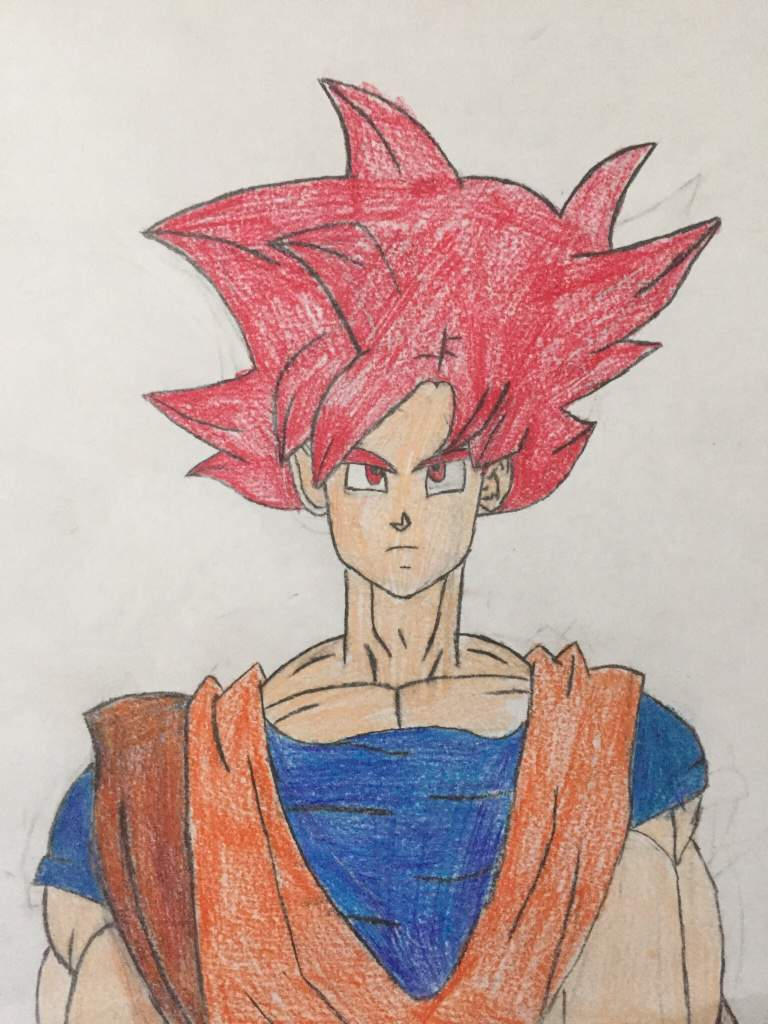Goku Super Saiyan God Drawing : super, saiyan, drawing, Super, Saiyan, Drawing, DragonBallZ, Amino