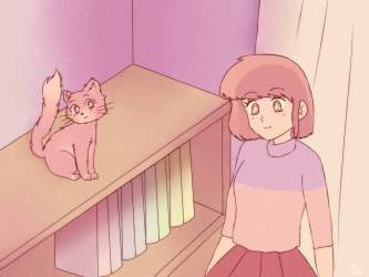 80s Anime Aesthetic Background