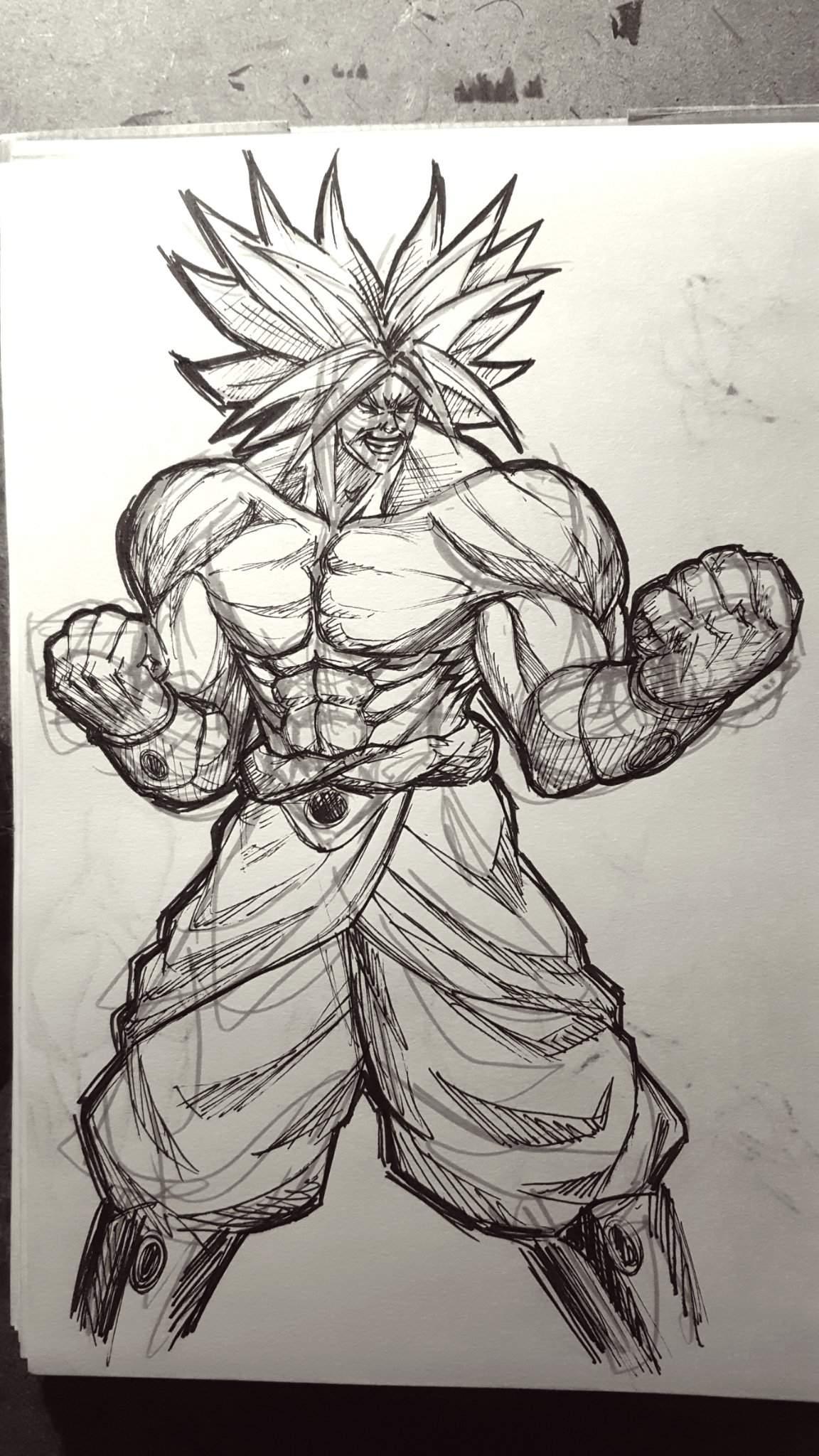 Broly Sketch : broly, sketch, Broly, Sketch, DragonBallZ, Amino