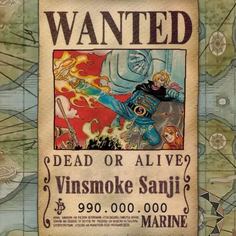 post wano bounty posters