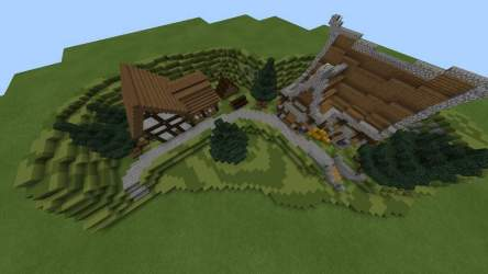 � Medieval houses entry! � Minecraft Amino