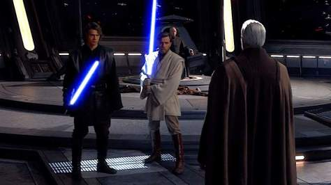 In ROTS, how did Obi-Wan defeat Anakin when he couldn't defeat Dooku in the  beginning of the film ? | Star Wars Amino