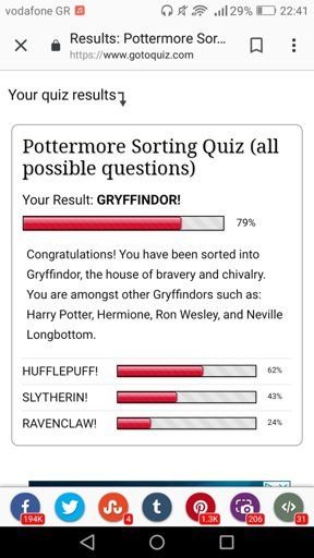 Pottermore All Questions House Quiz : pottermore, questions, house, Pottermore, Sorting, Gotoquiz