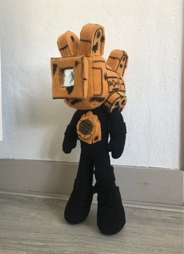 The Projectionist Plushie  Bendy and the Ink Machine Amino