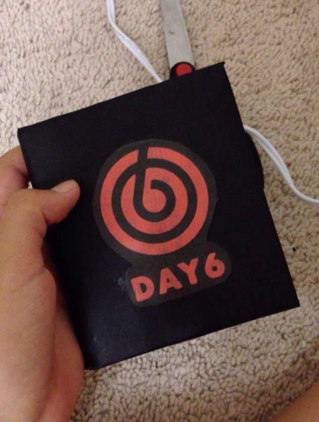 fff18 diy day6 hardcover