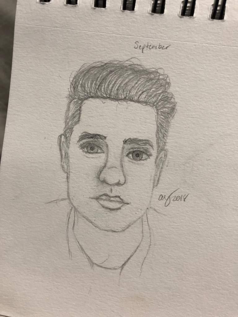 Brendon Urie Drawing : brendon, drawing, Brendon, Sketch, Panic!, Disco, Amino