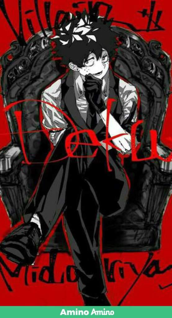 Villain Deku Full Body : villain, Villain, Academia, Amino