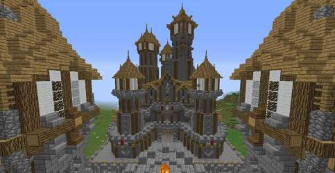 What do u think of my medieval city so far? Minecraft Amino