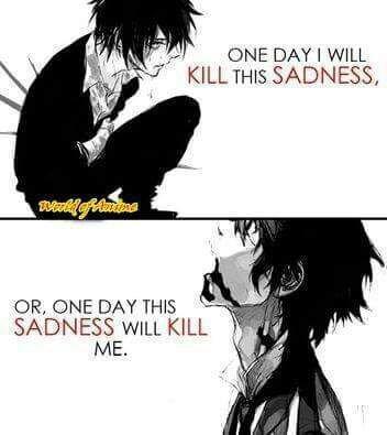sad anime quotes anime