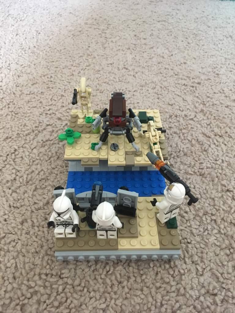 Lego Star Wars Utapau Mini Moc Star Wars Amino