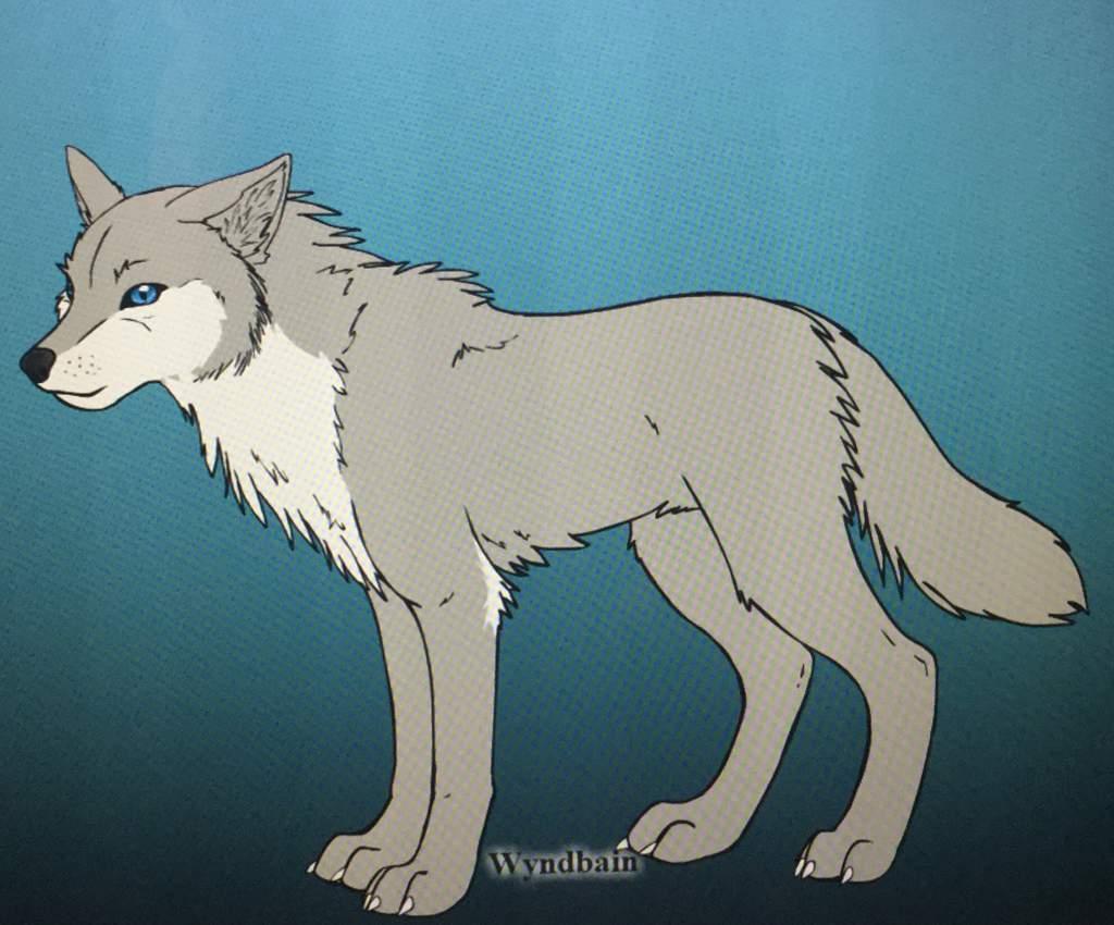 sa characters as wolves