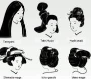 traditional japanese hairstyles