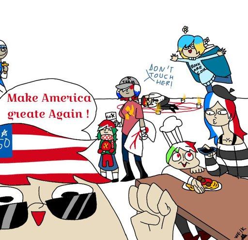 Countryballs Russia X America Gratuit | Blaguesfun