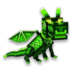 grass dragon pixel gun