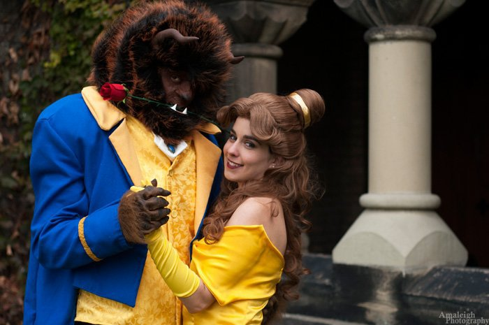 Image result for beauty beast cosplay -pinterest