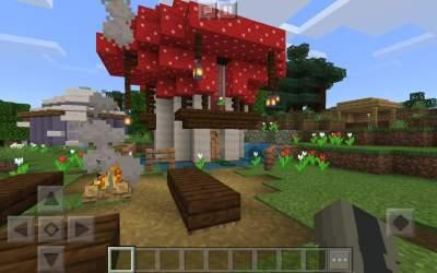 small mushroom survival house !! Minecraft Amino