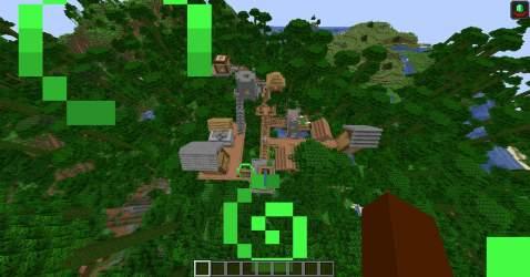 Custom Jungle Village Build Minecraft Amino