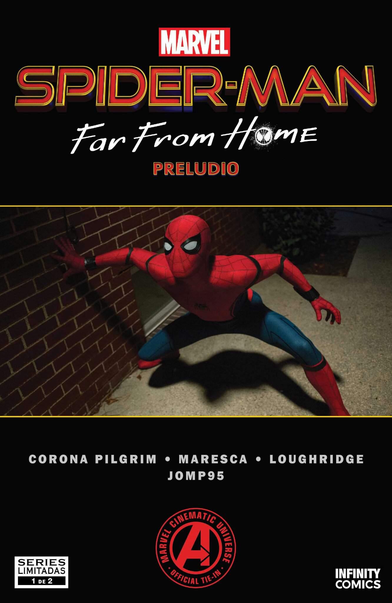 Spider Man Far From Home Wiki : spider, Spiderman, Preludio, Marvel, Amino
