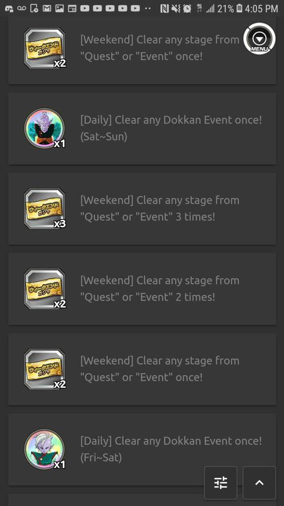 the 2nd weekend ticket