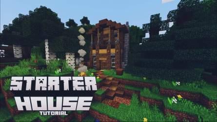 Minecraft Starter house tutorial Minecraft Amino
