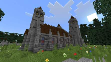 minecraft church roof hardest didn thing because special want
