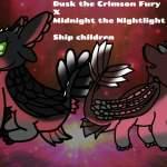 My Oc Dusk X Black Nightlight With Green Eyes Ship Children H T T Y D Amino