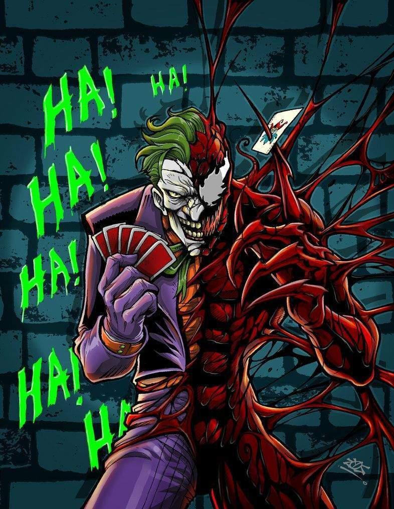 Carnage Vs Joker : carnage, joker, Joker, Carnage:, Craziest?, Marvel, Amino