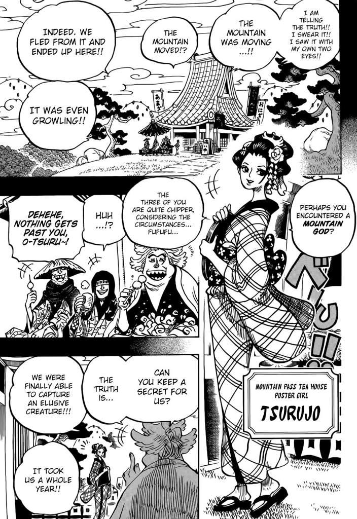 One Piece Scan 960 : piece, Piece, Chapter, Kozuki, Takes, Stage, Analysis, Amino