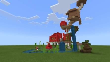 My Mushroom House Minecraft Amino