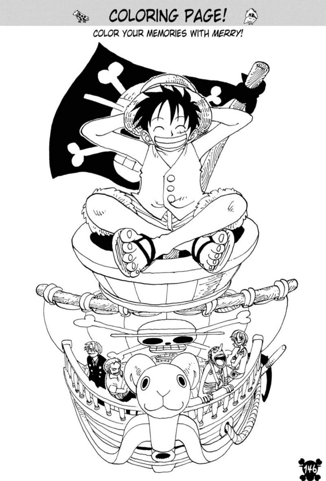 One Piece Coloring Pages : piece, coloring, pages, Coloring, Piece, Amino
