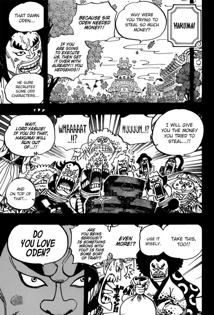 One Piece 963 : piece, Piece, Chapter, Becoming, Samurai, Analysis, Amino