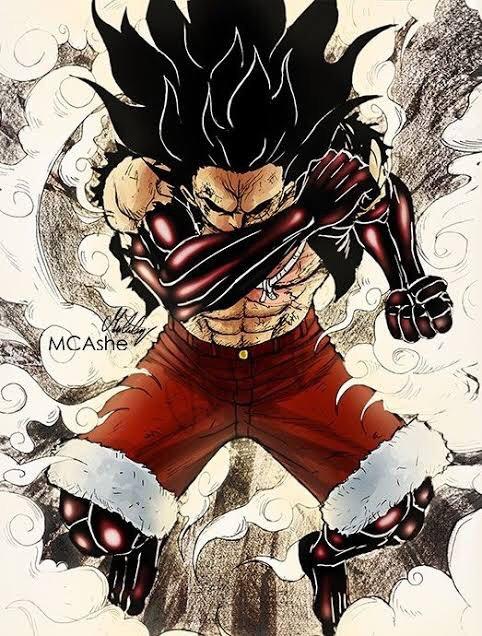Spoiler terbaru one piece chapter 1025, gear 4 luffy vs kaido dragon form! Luffy Gear 5 Tigerman ïンピース画像