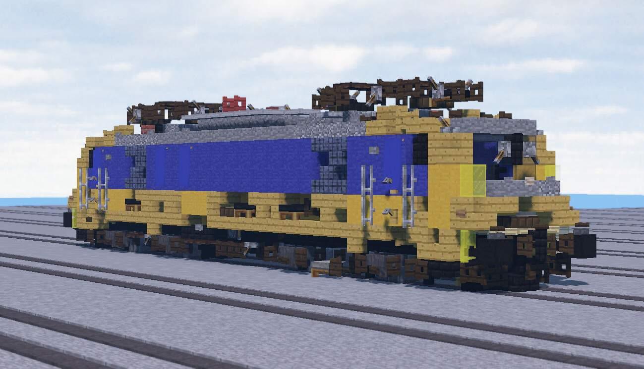 NS TRAXX F140 MS2e locomotive   Minecraft Amino