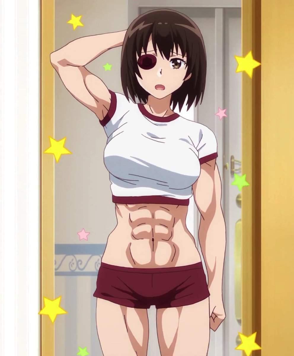 Anime Female Abs : anime, female, Ripped, Anime, Women, Amino