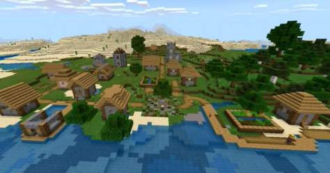 Making new houses in a village build practise Minecraft Amino