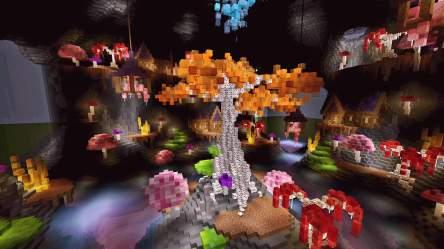 Fairy Cave Build Minecraft Amino