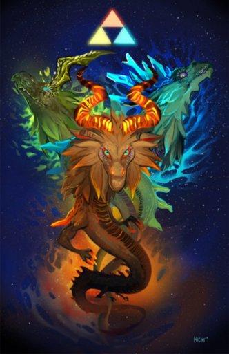 Link contre l'Ombre de Vent de Ganon (Artwork