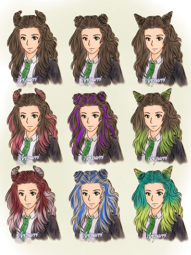 Hogwarts Mystery Hairstyles : hogwarts, mystery, hairstyles, Hairstyle, Wishlist, (part, 1/??), Hogwarts, Mystery, Amino