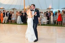 Dreamy June Wedding With Pinks And Blues Delights In