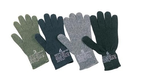 Wool Liner Gloves