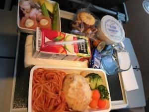 機内食チャイルドミール