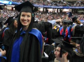 Anna Stevens GSU Commencement 2013