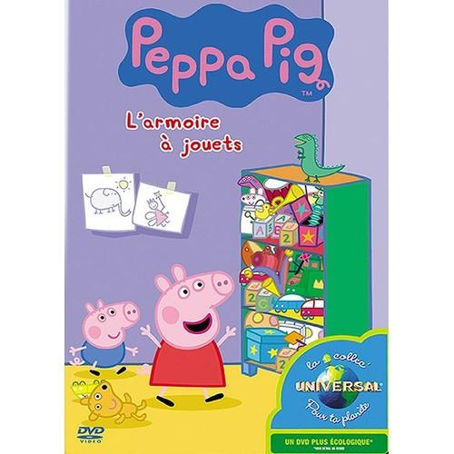 Peppa Pig  L'armoire À Jouets  Dvd Zone 2  Rakuten